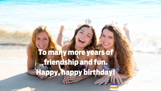 happy birthday image for female friends